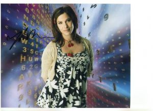 Signed 10 x 8 Photograph of Juliet Cowan star Sarah Jane Smith Adventures,